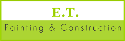 Logo, E.T. Painting & Construction